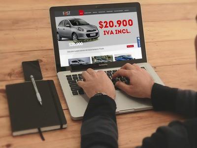 Fast Rental  - Diseño Web Puerto Montt
