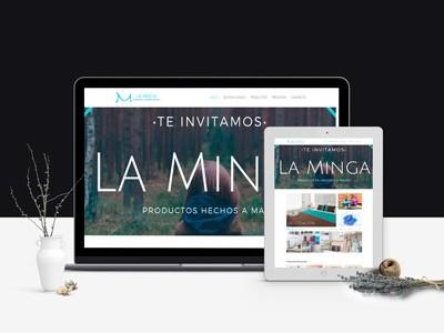 La MINGA - Diseño Web Puerto Montt