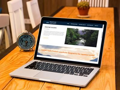 Pristine Salmon - Diseño Web Puerto Montt