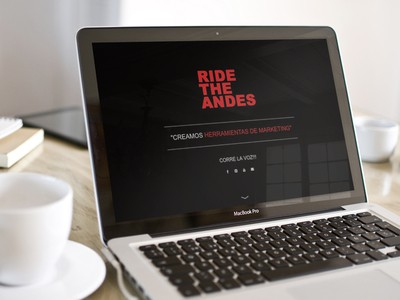 Ride the Andes - Diseño Web Puerto Montt